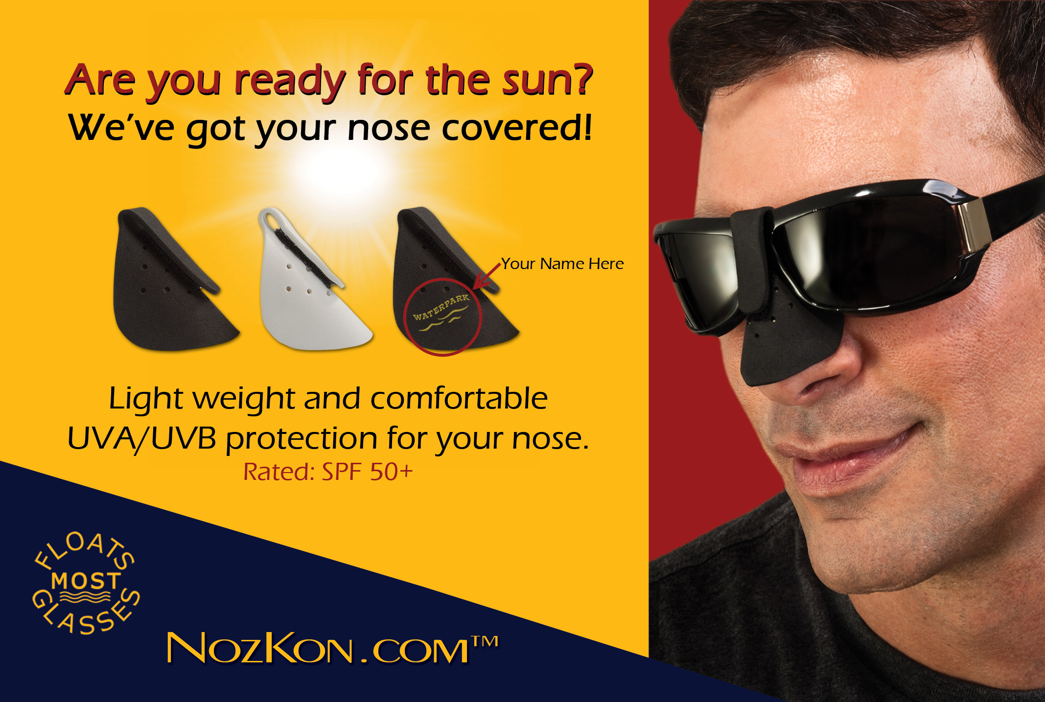 Nozkon Com The Newest Technology In Sun Protection For