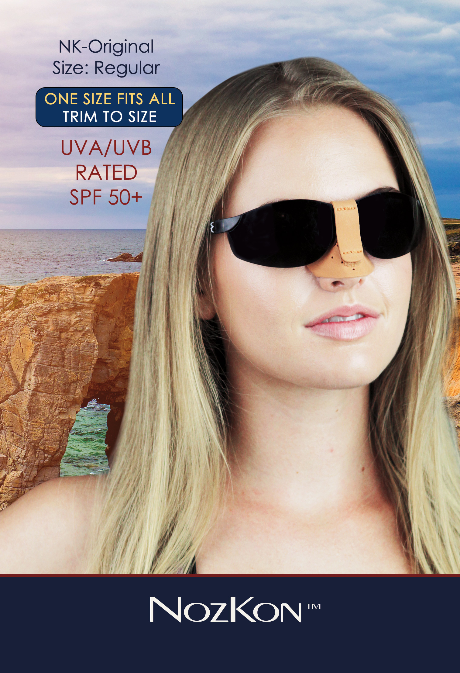 7b6c65111a81 NozKon.com - The newest technology in sun protection for the nose.